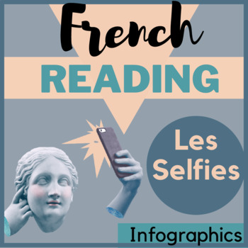 Authentic material French francais technology unit infographic selfies questions