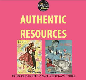 Authentic resource video Spanish 2: TRAVEL, VIAJES, PRETERITE, IMPERFECT