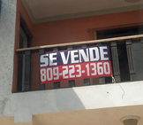 Authentic Spanish signs in the Dominican Republic