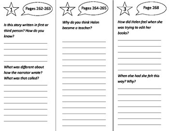 Author: A True Story Trifold - Treasures 3rd Grade Unit 2 Week 5 (2009)