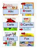 Author Alphabet Lineup