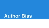Author Bias PowerPoint