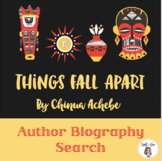 Author Biography Search: Chinua Achebe