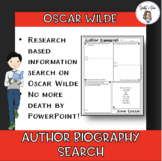 Author Biography Search: Oscar Wilde