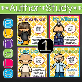 Author & Book Study {Bundle 1}