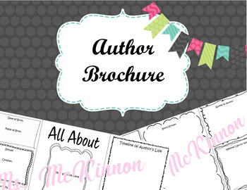 Author Brochure Research Project