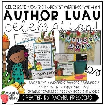 Author Celebration Luau