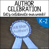 Author Celebration Packet!