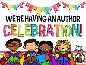 Author Celebration ~ Publishing Party