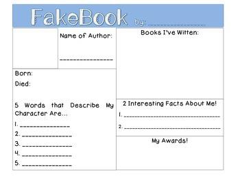 Author FakeBook