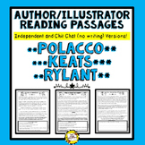 Author Illustrator Reading Passages (Polacco, Keats, Rylant)