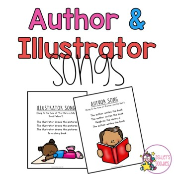 Author/Illustrator Preschool/Kindergarten Songs