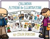 Children's Author & Illustrators Posters - 94 Color Full & Half Posters