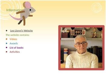 Author Presentation and Lesson Plan: Leo Lionni
