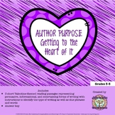 Valentine's Day Author Purpose: Getting to the Heart of It