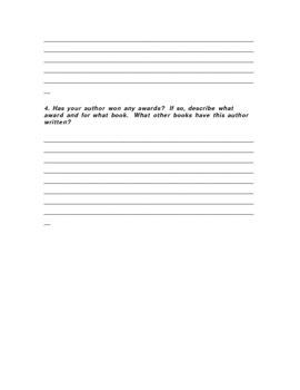 Author Report