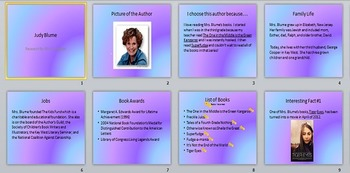 Author Research Product EXAMPLE (PPT)