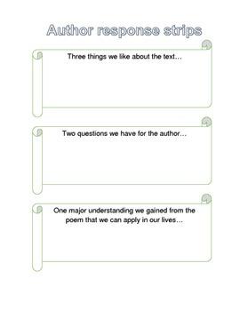 Author Response Strips