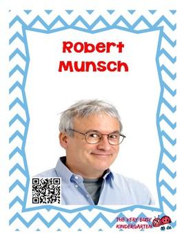 Author Robert Munsch Listening Center QR Codes