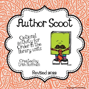 Library Skills:  Author Scoot!