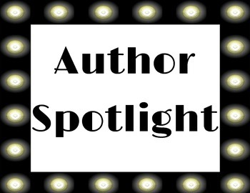 Author Spotlight by Miss Halo | Teachers Pay Teachers