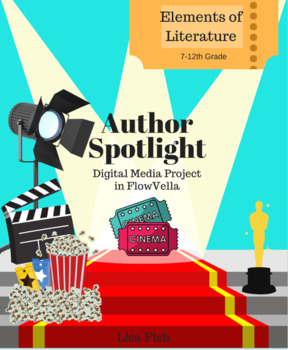 Author Spotlight: Biography Digital Media Project with FlowVella