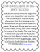 Author Spotlight Biography Printable for Classroom Library!