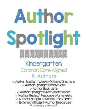 Author Spotlight Curriculum