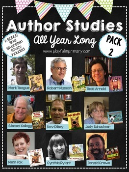 Author Studies All Year Long and Activities-Pack 2