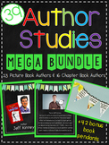 Author Studies Mega Bundle: 43 Authors and Activities + Bonus Book Pendants!