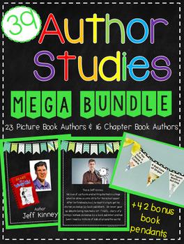 Author Studies Mega Bundle: 43 Authors and Activities + Bo