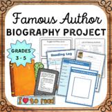 Famous Author Research Project (A Comprehensive Author Bio