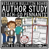Author of the Month: Jan Brett, Mo Willems Author Study Template Activities