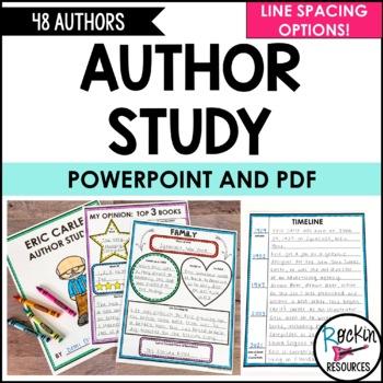 Author Study EDITABLE