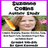 Suzanne Collins Author Study, Biography, Reading Response, Projects, More