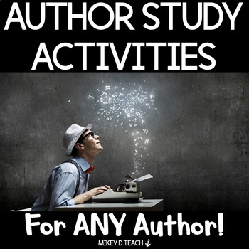 Author Study Activities - Make Your Own Book!