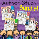 Author Research Study Activity BUNDLE Sets 1, 2, 3, and 4