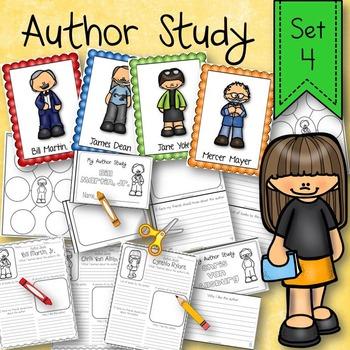 Author Research Study Activity Set 4
