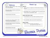 Author Study ~ Internet Research ~ Beatrix Potter