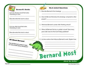 Author Study ~ Internet Research ~  Bernard Most