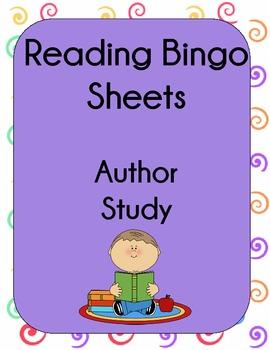 Author Study Bingo to Motivate Reading