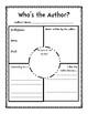 Author Study Booklet