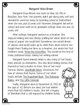 Author Study- Celebrating Strong Females