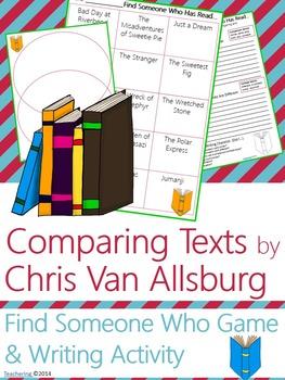 Author Study {NO PREP Writing Activities & Game} BUNDLE