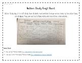 Author Study Craft Chart