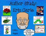 Author Study: Eric Carle (Book Companion Bundle with extra