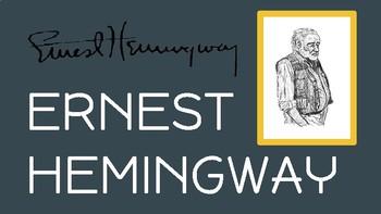 Author Study: Ernest Hemingway (Interactive Biography & Writing Activity)