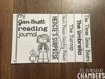 Jan Brett Author Study: Story Elements, Retelling, Predicting, Inferencing