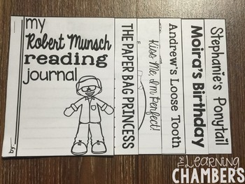 Robert Munsch Author Study: Story Elements, Retelling, Predicting, Inferencing