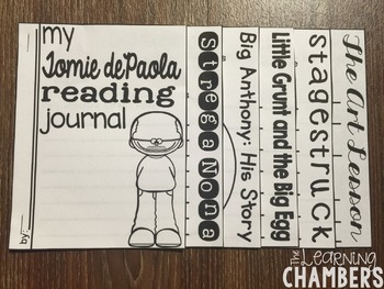 Tomie dePaola Author Study: Story Elements, Retelling, Predicting, Inferencing